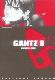 Gantz T.8 - Couverture - Format classique