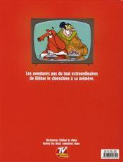 Klébar le chien t.1 - 4ème de couverture - Format classique