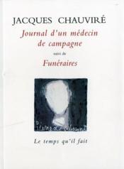 Journal D'Un Medecin De Campagne - Couverture - Format classique