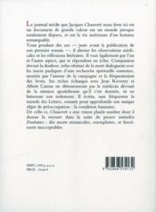 Journal D'Un Medecin De Campagne - 4ème de couverture - Format classique