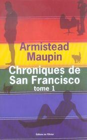 Chroniques de San Francisco ; INTEGRALE VOL.1 ; T.1 A T.3 - Intérieur - Format classique