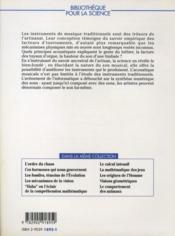 Les instruments de l'orchestre - 4ème de couverture - Format classique