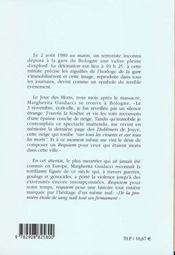 L'horloge de bologne - 4ème de couverture - Format classique