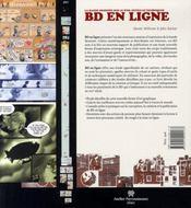 Bd en ligne ; la bande-dessinée sur le web ; outils et techniques - 4ème de couverture - Format classique