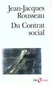 Du contrat social / fragments politiques / discours sur l'economie politique / du contrat social (pr - Intérieur - Format classique