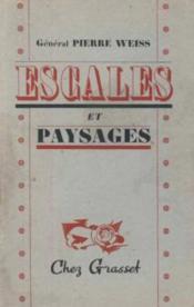 Escales et paysages - Couverture - Format classique