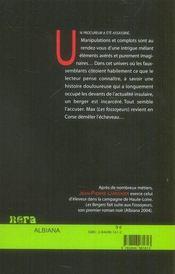 Les bergers - 4ème de couverture - Format classique