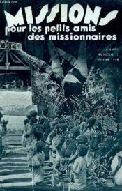 MISSIONS POUR LES PETITS AMIS DES MISSIONNAIRES, 6e ANNEE, N° 1, JAN. 1938 - Couverture - Format classique