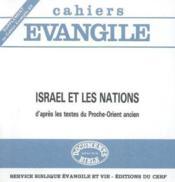 Israel et les nations (j. briend et m.-j. seux) - Couverture - Format classique