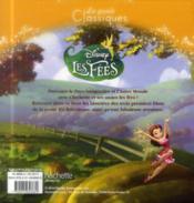 Les aventures de Clochette - 4ème de couverture - Format classique