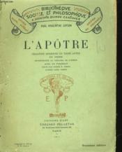 L'Apotre - Ragedie Moderne En Trois Actes En Prose - Couverture - Format classique