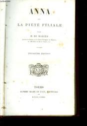 Anna Ou La Piete Filiale - Couverture - Format classique