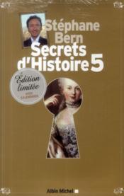 Secrets d'histoire t.5 (édition limitée) - Couverture - Format classique