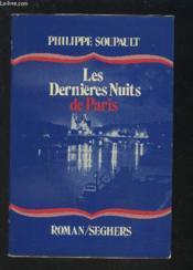 Les Dernieres Nuits De Paris. - Couverture - Format classique