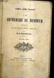A La Recherche Du Bonheur / 5e Edition. - Couverture - Format classique