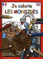 Je colorie les monstres - Intérieur - Format classique