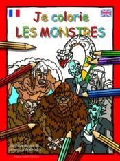 Je colorie les monstres - Couverture - Format classique