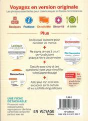 GUIDE DE CONVERSATION ; espagnol (10e édition) - 4ème de couverture - Format classique