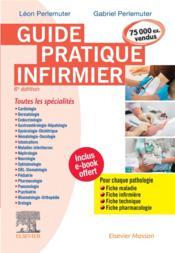Guide pratique infirmier (6e édition) - Couverture - Format classique