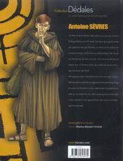 Antoine Sevres T.1 ; Abyssus Abyssum Invocat - 4ème de couverture - Format classique
