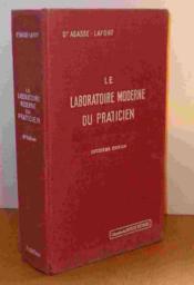 Le Laboratoire Moderne Du Praticien - Couverture - Format classique