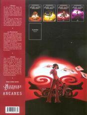 Arcane majeur t.4 ; J.F.K. - 4ème de couverture - Format classique