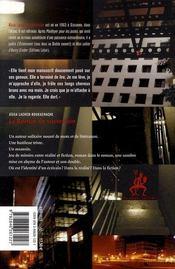 Le Roman Du Souterrain - 4ème de couverture - Format classique