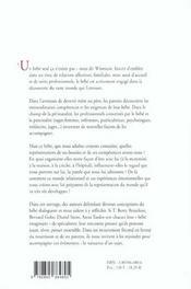 Le monde relationnel du bebe [actes du colloque, 22-23 juin 1996, avignon, palais des papes] - 4ème de couverture - Format classique