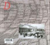 Les Tramways De Chez Nous - 4ème de couverture - Format classique