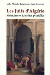 Juifs Les D'Algerie - Couverture - Format classique