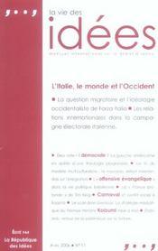 La vie des idees - avril 2006 - Intérieur - Format classique