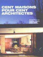 100 maisons pour 100 architectes - Intérieur - Format classique