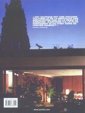 100 maisons pour 100 architectes - 4ème de couverture - Format classique