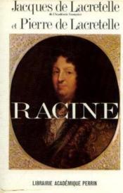 Introduction au théatre de racine, suivie de, La vie privée de Racine - Couverture - Format classique