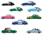 Les voitures - Couverture - Format classique