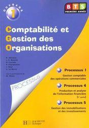 Comptabilite Gestion Organisation - Intérieur - Format classique
