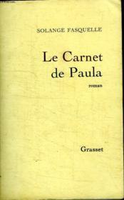 Le Carnet De Paula. - Couverture - Format classique