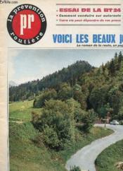 Revue La Prevention Routiere - N°38 - Avril 1965 - Essai De La Bt 24 - Comment Conduire Sur Autoroute - Pneus - Couverture - Format classique