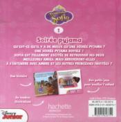 Princesse Sofia t.1 ; soirée pyjama - 4ème de couverture - Format classique