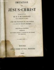 Imitation De Jesus Christ - Couverture - Format classique