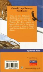 Grand-loup-sauvage - 4ème de couverture - Format classique
