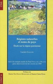 Regions Naturelles Et Noms De Pays - Intérieur - Format classique