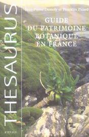 Guide Du Patrimoine Botanique En France - Intérieur - Format classique