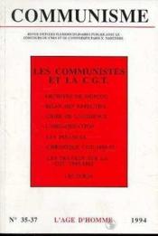 C35/37 Communisme - Couverture - Format classique