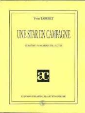 Une star en campagne - Couverture - Format classique