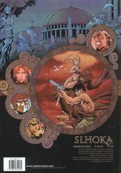Slhoka t.2 ; les jardin de Sangali - 4ème de couverture - Format classique