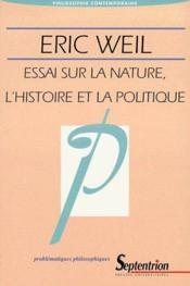 Essai sur la nature, l'histoire et la politique - Couverture - Format classique