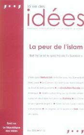 La vie des idees - numero 12 - mai 2006 la peur de l'islam - Intérieur - Format classique