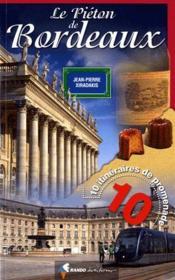 Le piéton de Bordeaux - Couverture - Format classique