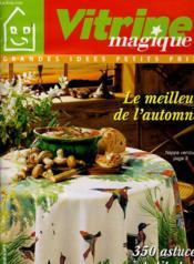 Vitrine Magazine - Grandes Idees Petits Prix - Le Meilleur De L'Automne - 350 Astuces A Petits Prix - Couverture - Format classique